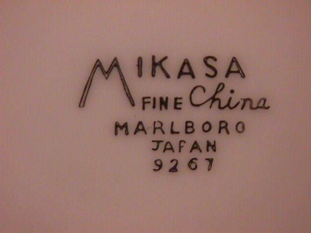Mikasa Fine China (Marlboro) #9267 Cup/Saucer