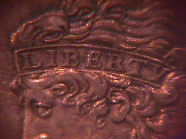 HALF CENT COPPER COIN Classic Head-1833  AU-50   Condition