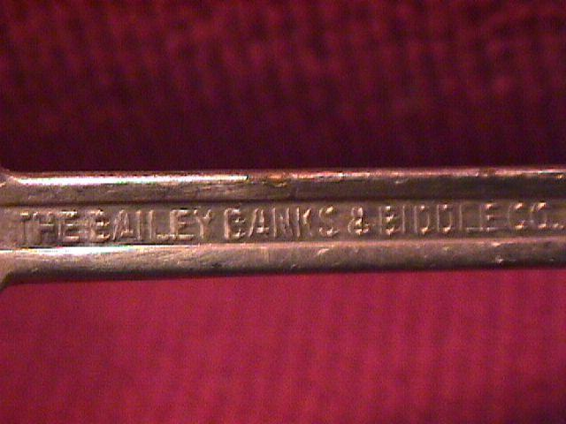 Bailey, Banks & Biddle, Silverplate, Oyster Ladle