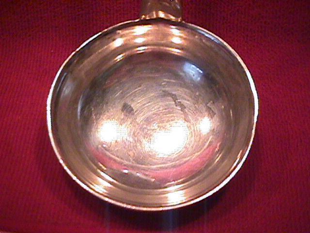 Norblin, Silverplate (Fiddle-Shape) Soup Ladle