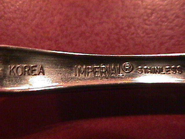 IMPERIAL Stainless (CHALMETTE) Master Butter Knife