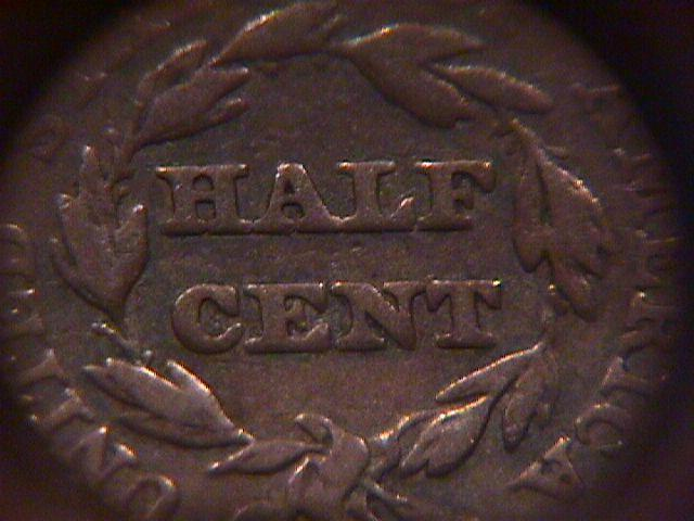 HALF CENT COPPER COIN BRAIDED HAIR-1851 VERY FINE-20   Condition