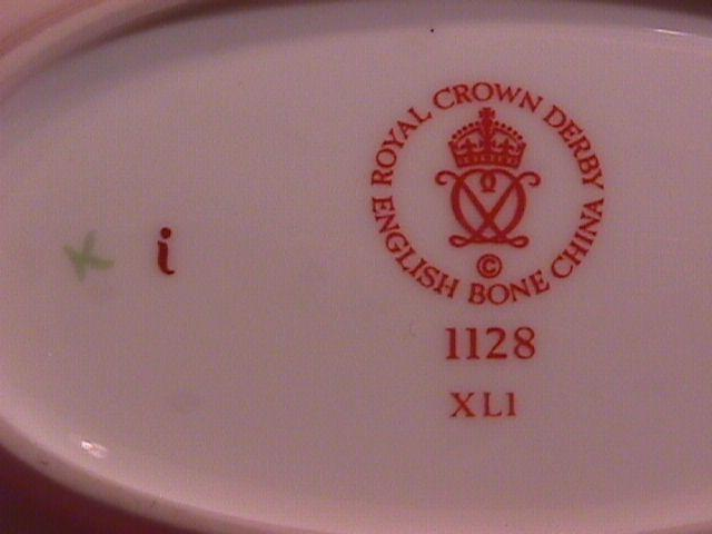 Royal Crown Derby, Bone China-Vanity Dish