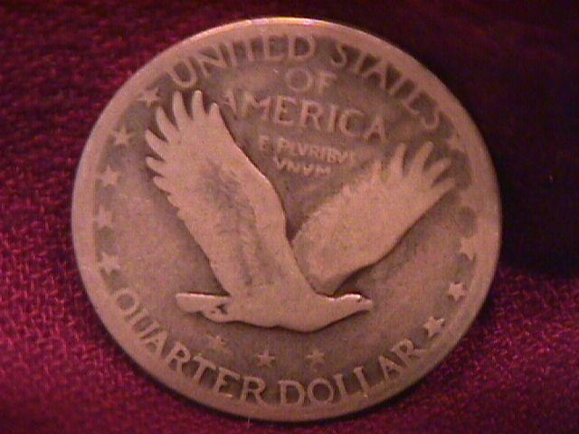 Standing Liberty Silver Quarter 1927-S Very Good-8 Condition