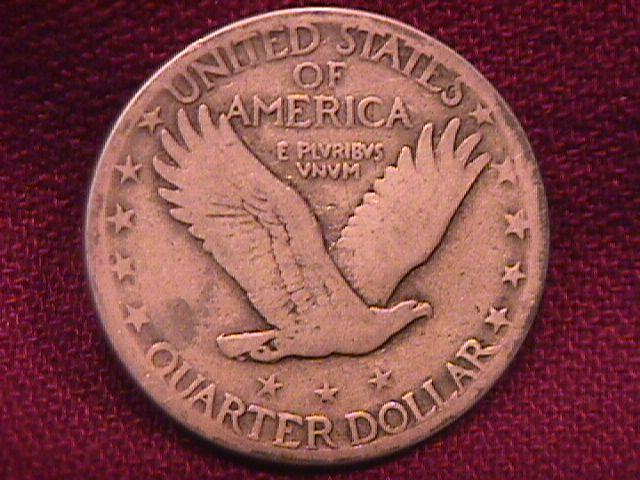 Standing Liberty Silver Quarter 1927-D Very Good-10