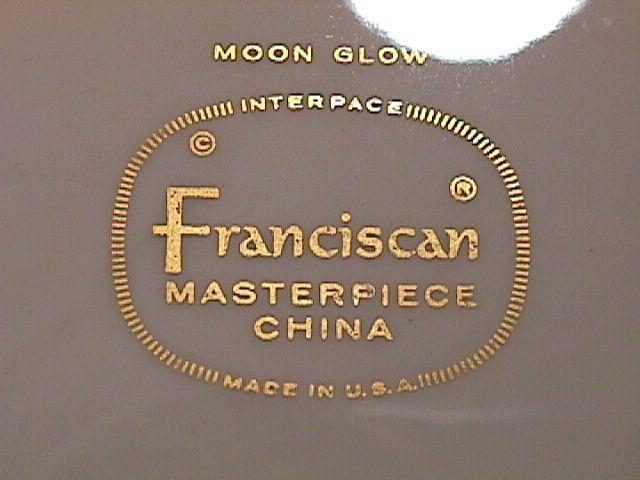 FRANCISCAN MOON GLOW SALAD PLATE