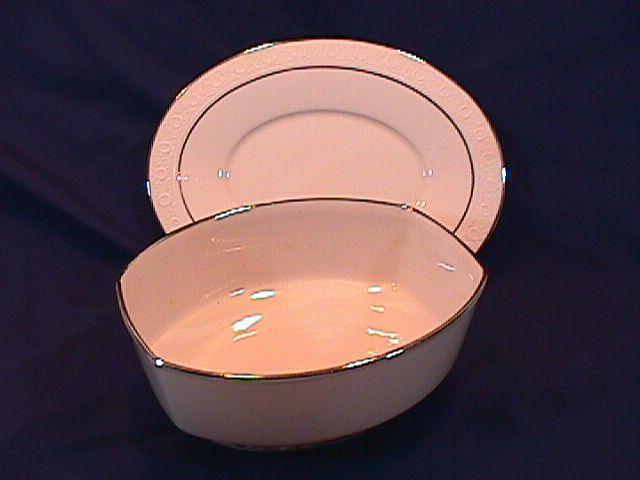FRANCISCAN MOON GLOW 1 GRAVY SET 2 PIECE