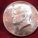 KENNEDY HALF DOLLAR 1964-D MS-65