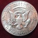 KENNEDY HALF DOLLAR 1965-P MS-65