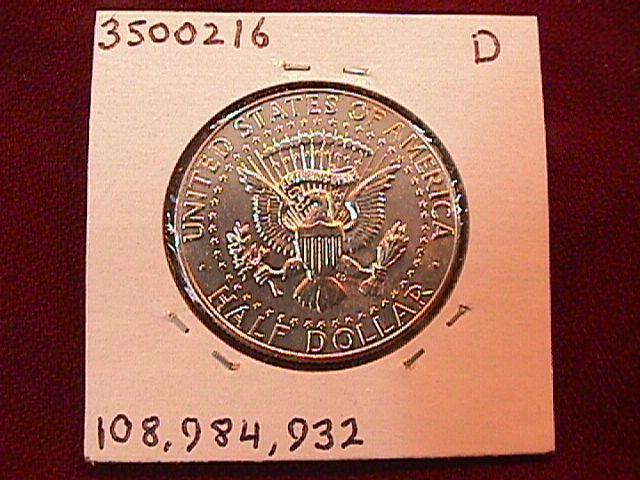 KENNEDY HALF DOLLAR 1966-P MS-65