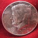 KENNEDY HALF DOLLAR 1968-D MS-65