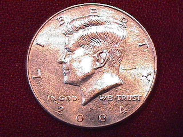 KENNEDY HALF DOLLAR 2004-P MINT STATE-63+++
