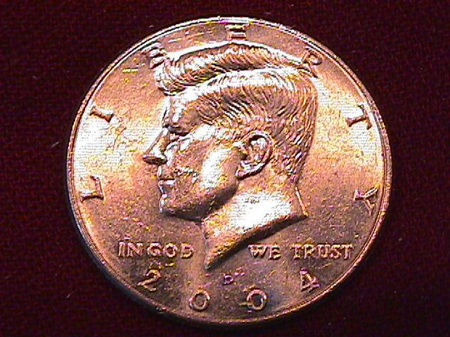 KENNEDY HALF DOLLAR 2004-D MINT STATE-63+++