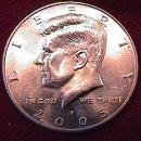 KENNEDY HALF DOLLAR 2005-P MINT STATE-63+++