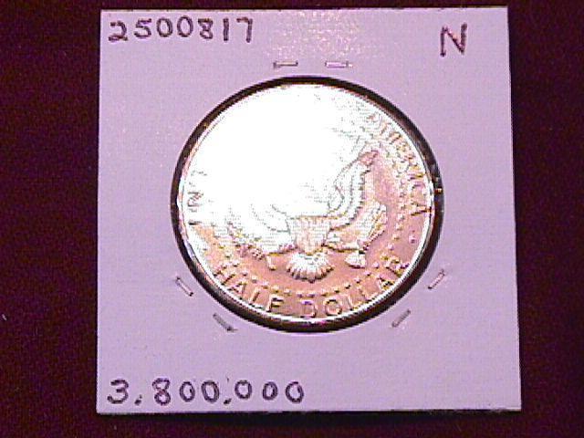 KENNEDY HALF DOLLAR 2005-P MINT STATE-63+++