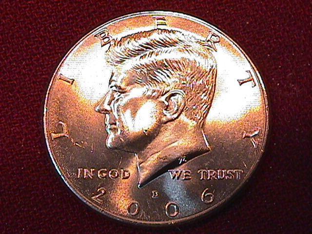 KENNEDY HALF DOLLAR 2006-D MINT STATE-63+++