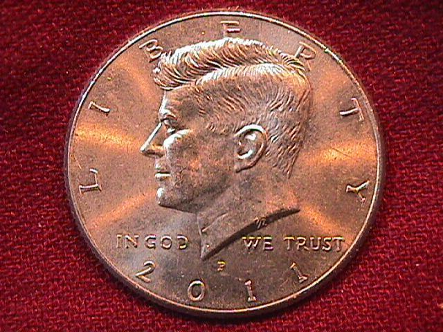 KENNEDY HALF DOLLAR 2011-P MINT STATE-63+++