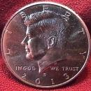 KENNEDY HALF DOLLAR 2013-D MINT STATE-63+++