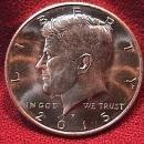 KENNEDY HALF DOLLAR 2015-P MINT STATE-63+++
