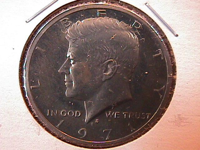 KENNEDY HALF DOLLAR CIRCULATED PROOF 1971-S