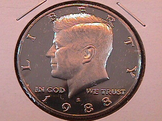 KENNEDY HALF DOLLAR 1988-S CIRCULATED PROOF
