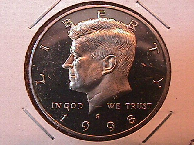 KENNEDY HALF DOLLAR 1998-S CIRCULATED PROOF