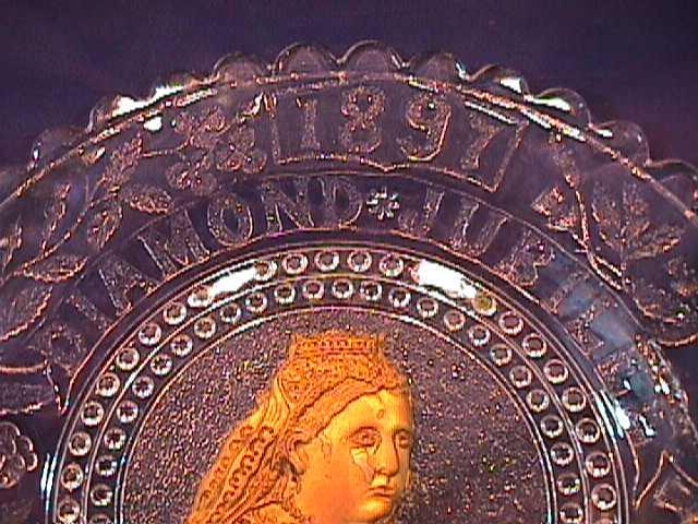 QUEEN VICTORIA 1897 DIAMOND JUBILEE DISPLAY PLATE