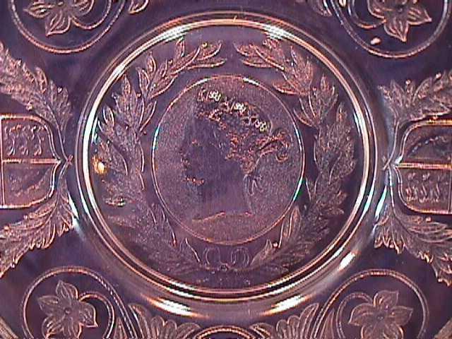 QUEEN VICTORIA 1897 DIAMOND JUBILEE LUG HANDLE CAKE SERVER