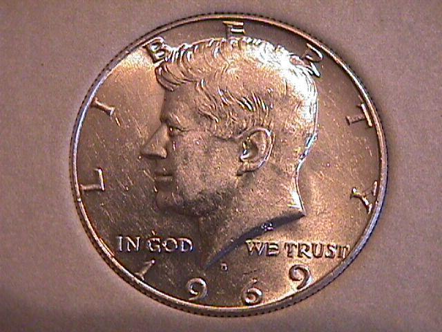 KENNEDY SILVER SET 1964-1970 COMPLETE 12 COINS PROOF to UNC. HARRIS FOLDER