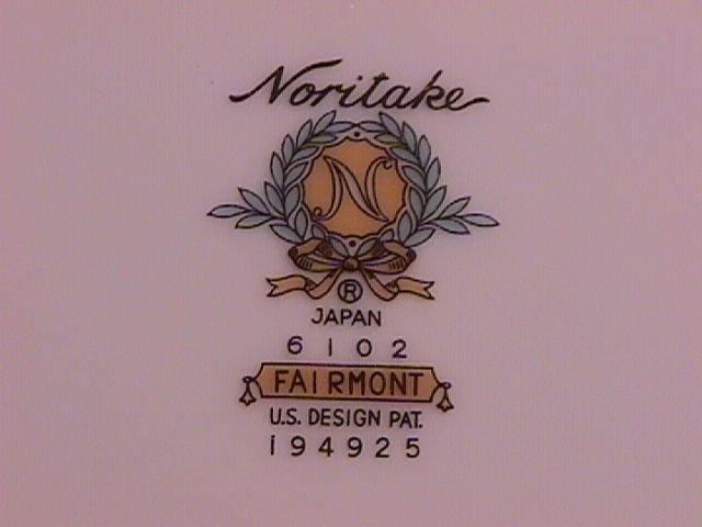 Noritake Fairmont 6102 Dinner plate
