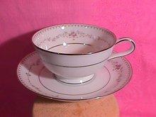 Noritake Fairmont  Cup & Saucer