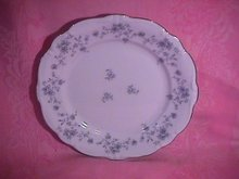 Johann Haviland Blue Garland Dinner Plate
