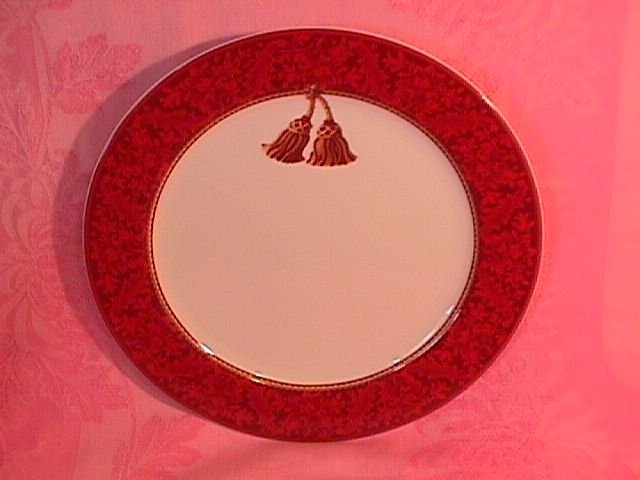Sakura Halllmark Holiday Abundance Dinner Plate