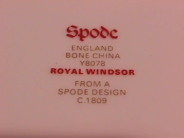 Spode Royal Windsor-Y8078 Gravy Boat