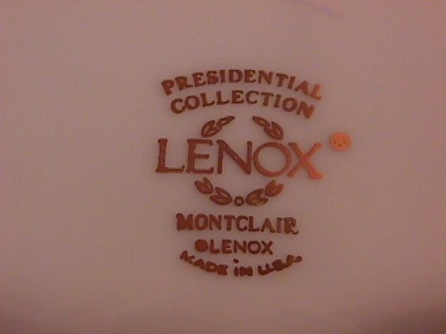 Lenox China Montclair Rimmed Soup