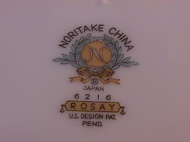 Noritake Rosay-6216 Cup & Saucer