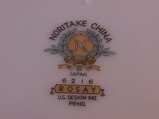 Noritake Rosay-6216 Oval Vegetable