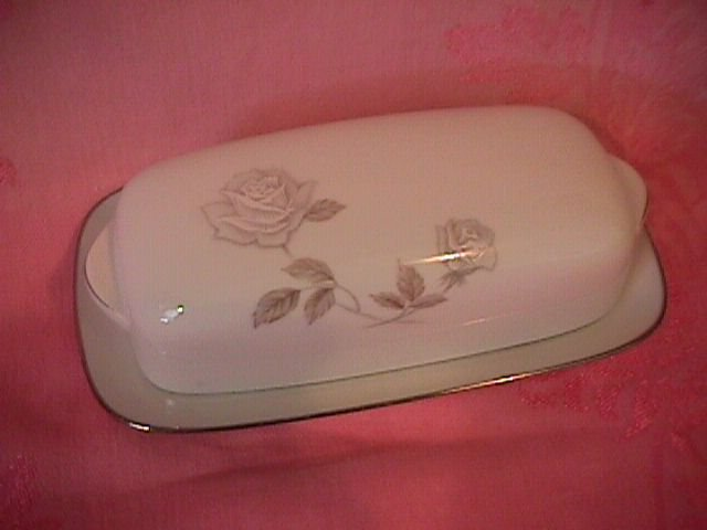 Noritake Rosay-6216  Covered Butter