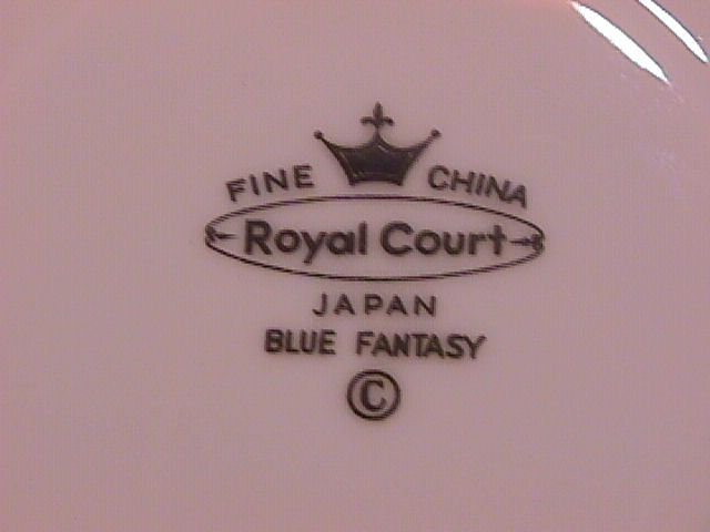 Fine China Japan  Royal Court