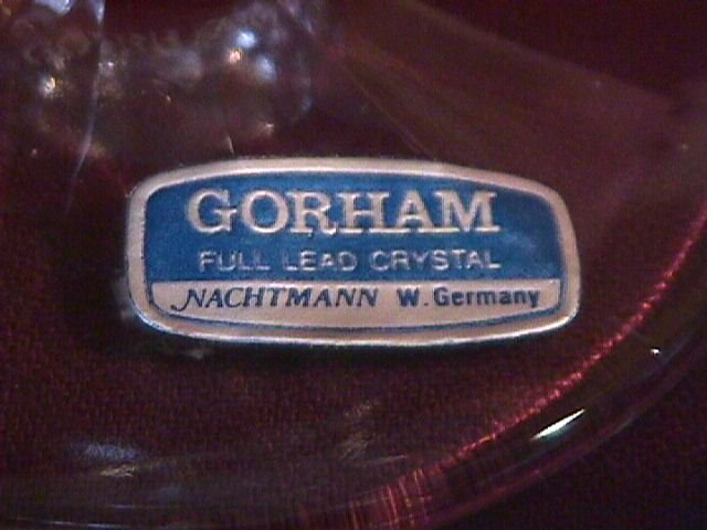 Crystal by Gorham