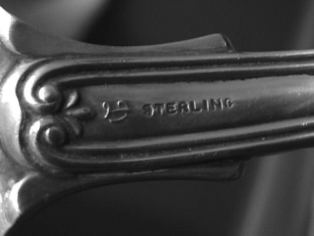 Durgin Sterling 1906 Hampshire Stuffing Spoon