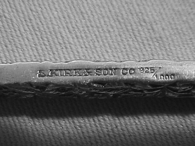 Kirk & Sons Sterling