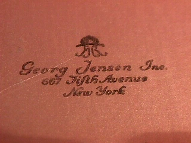 George Jensen Sterling Gift Box
