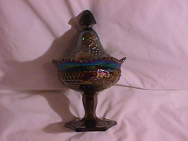 Northwood Carnival Glass Amethyst