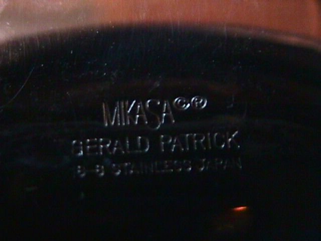Mikasa -Gerald Patrick Stainless