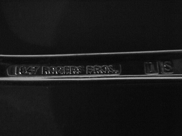 1847 Rogers Silverplate