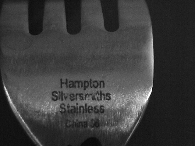 Hampton Silversmiths Stainless