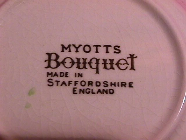 Myotts, Staffordshire China