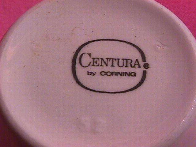 Corning China with Platinum Rim 2=Cups