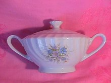 Bristol Fine China (Lisa #S-4561) Covered Sugar
